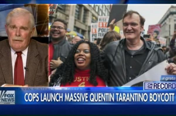 Cops Boycott Tarantino