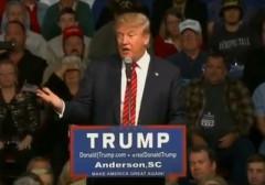Donald Trump in SC
