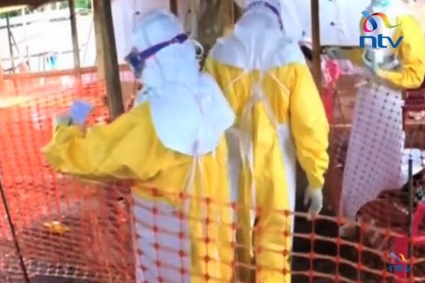 Ebola safety gear in Kenya