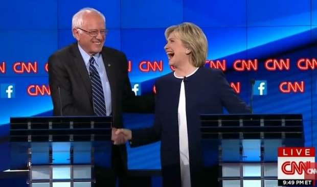 First Dem debate_ Sanders hands Hillary the nomination