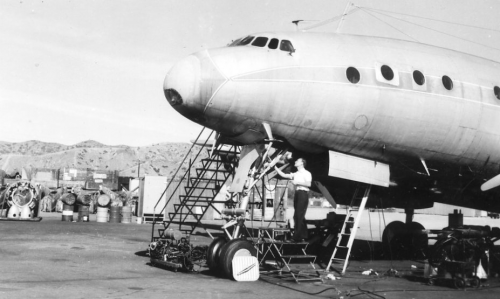 Fixing the Constellation, 1948