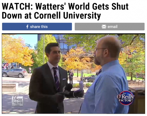 Fox News Cornell Watters World