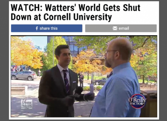 Fox News Cornell Watters World w border