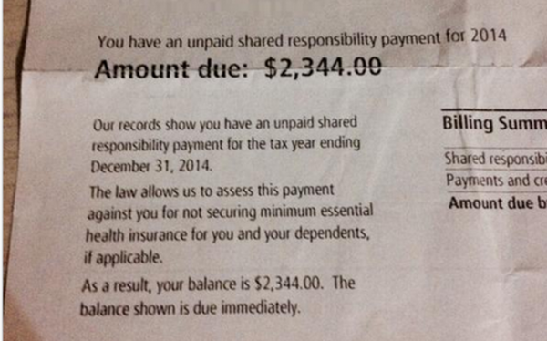 LI #25 IRS Shared Responsibility Payment