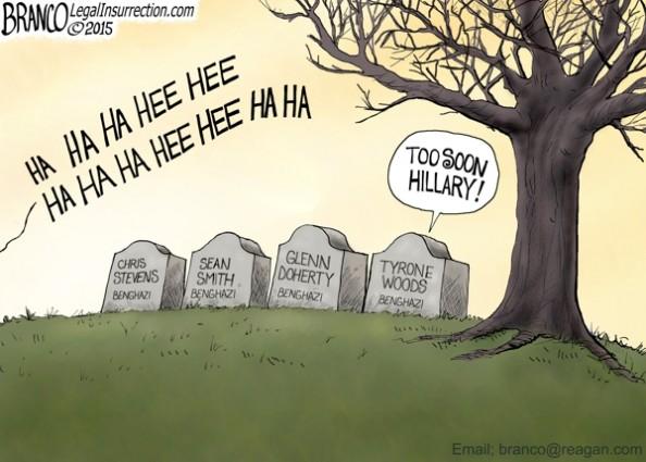 Hillary Cackling