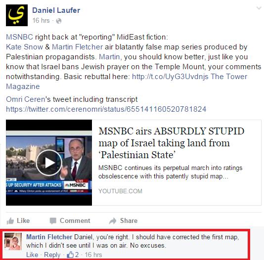 Map That Lies - Fletcher Facebook Apology
