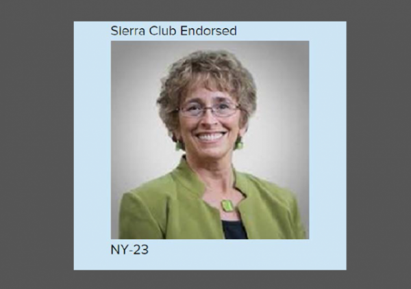 Martha Robertson Sierra Club endorsed w Border