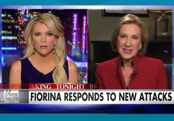 Megyn Kelly Carly Fiorina Responds to New Attacks