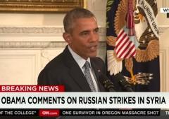 Obama on Putin and Syria