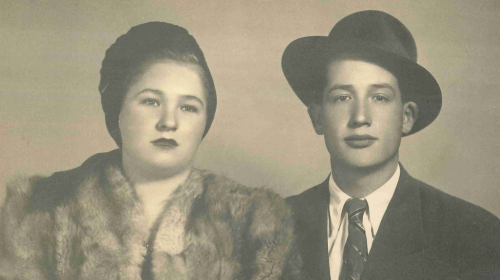 Ozer and Rivka Grundman, Dvir's Grandparents