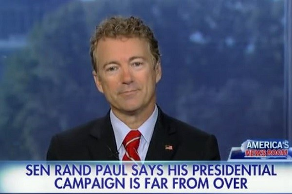 Rand Paul campaign not over