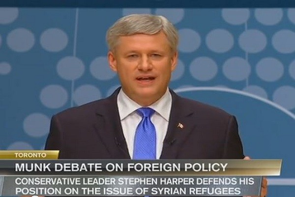 Stephen Harper at Munk Debate