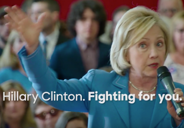 hillary clinton president campaign 2016 ad admit email scandal benghazi
