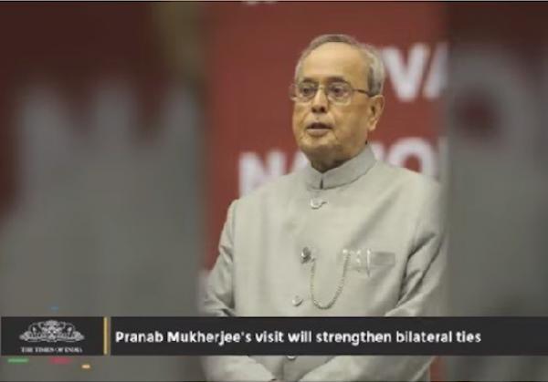pranab mukherjee india president