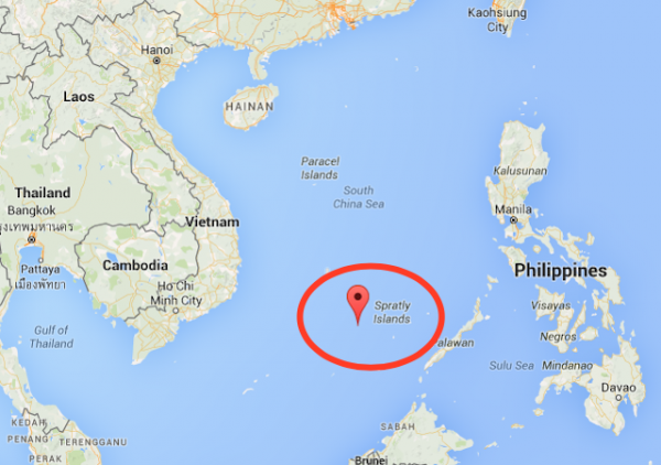 spratly islands souuth china sea