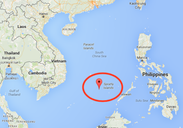 spratly island China says it has landed long-range bombers for the first time on an island in the south china sea, the latest in a series of maneuvers putting beijing at odds with its neighbors and washington.