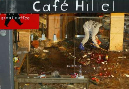 Café Hillel, After the September 9, 2003 Terror Attack