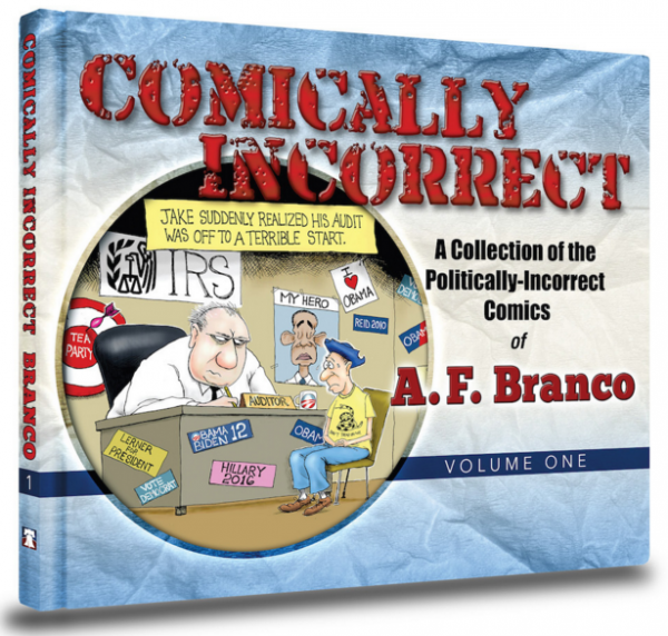 http://legalinsurrection.com/2015/11/buy-a-f-brancos-book-comically-incorrect-or-else/