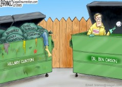 Trashing Ben Carson