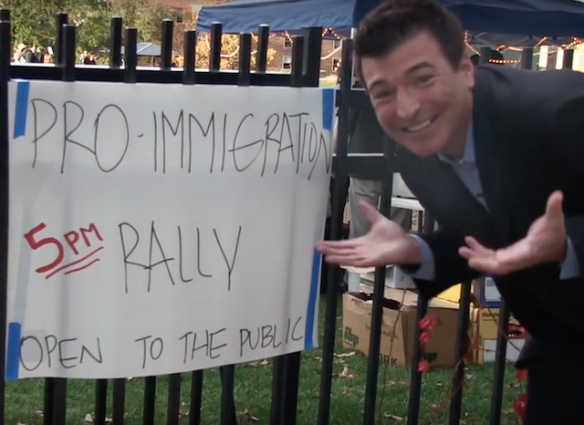 MRC kicked out immigration rally