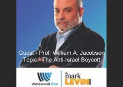 Mark Levin Westwood One - William A. Jacobson