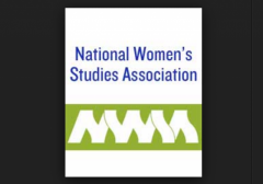 National Womens Studies Association Logo w border