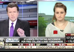 Neil Cavuto embarrasses student who wants free college and has no idea how to pay for it million student march free college 15 minimum wage raise the wage student debt