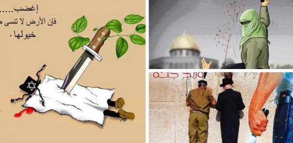 Palestinian Incitement Images