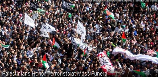 Palestinians Honor Terrorists