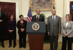President Obama press conference statement homeland safe paris attacks isis strategy isil