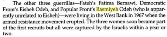 Rasmiyeh Odeh Daughters of Palestine page 25 - excerpt