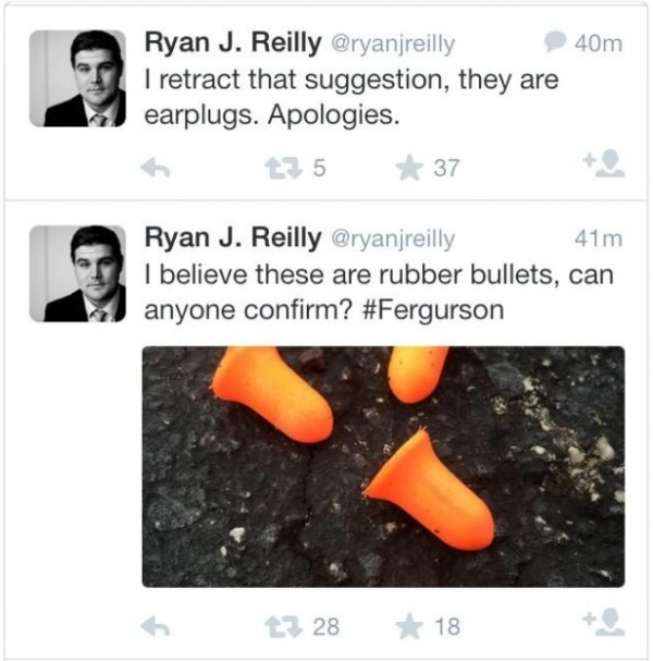 Ryan-Reilly-earplug-tweets-twitter