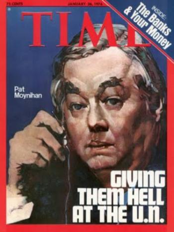 Time Mag Moynihan 1975