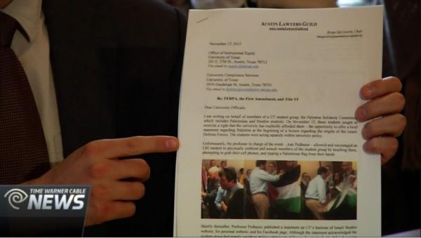 http://www.twcnews.com/tx/austin/news/2015/11/18/pro-palestine-ut-students-claim-civil-rights-were-violated.html