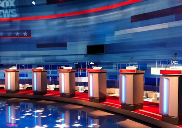 fox debate stage