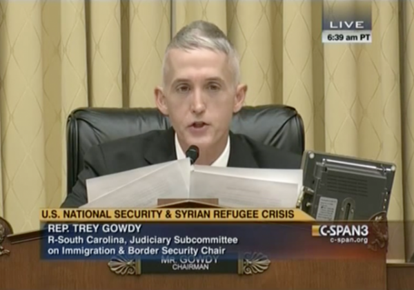 gowdy immigration widows and orphans dig president obama syrian refugees bill vote foreign policy paris attacks isis isil