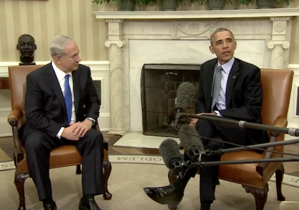 obama netanyahu oval office november 2015