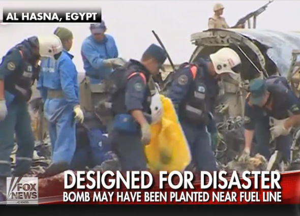 russian jet crash isis two hour timer bomb