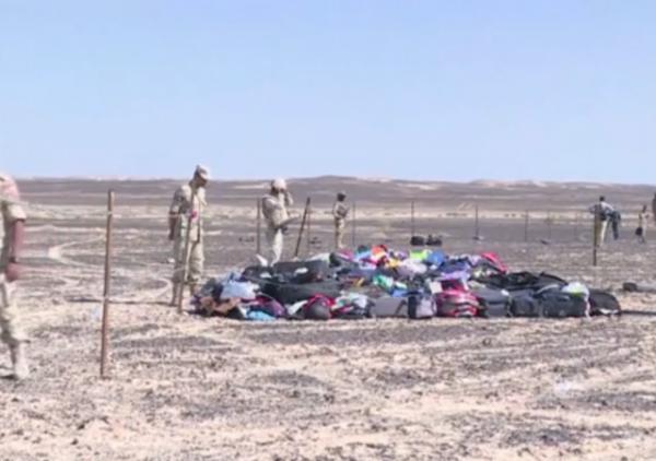 russian plane shot down luggage