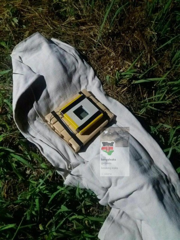 Air France Fake Bomb on Grass