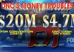 DNC cash poor problem