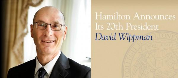 David Wippman Hamilton Announcement Website Homepage