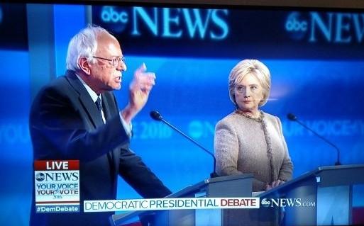 Democratic Debate December 2015 Sanders Clinton