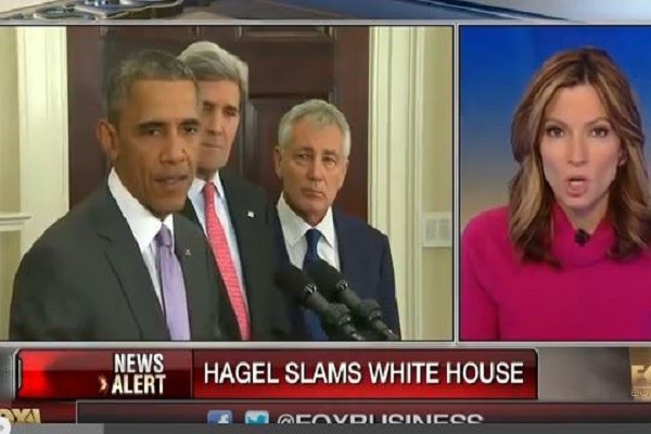Hagel slams WH