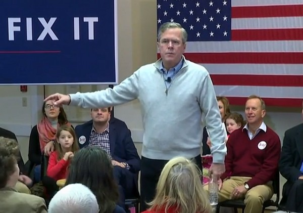 Jeb Bush Trump Jerk