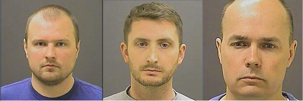 Garrett Miller (l.), Edward Nero (m.), Brian Rice (r.)