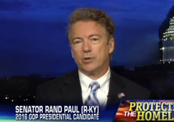 Rand Paul on Hannity