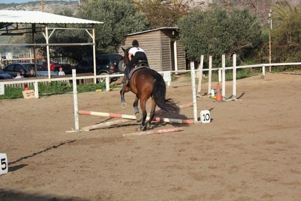 Shachar Rabinovitch Facebook Riding Horse