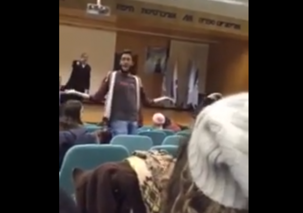 Yale Univ. Dr. Omer Salem Heckled at U. Haifa
