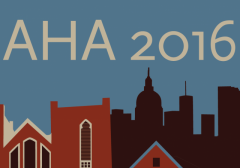 American Historical Association Annual Meeting Logo 2016